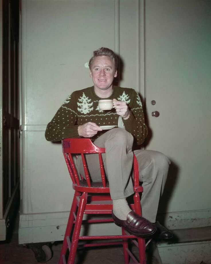 """This sweater is a little itchy, but this chair is killing men,"" thought actor Van Johnson. Photo: FPG, Getty Images / 2013 Getty Images"
