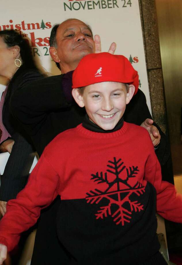 """Cheech Marin, you could have warned """"Malcolm in the Middle"""" star Erik Per Sullivan. He was only a child. He didn't know better. Photo: Evan Agostini, Getty Images / 2004 Getty Images"""