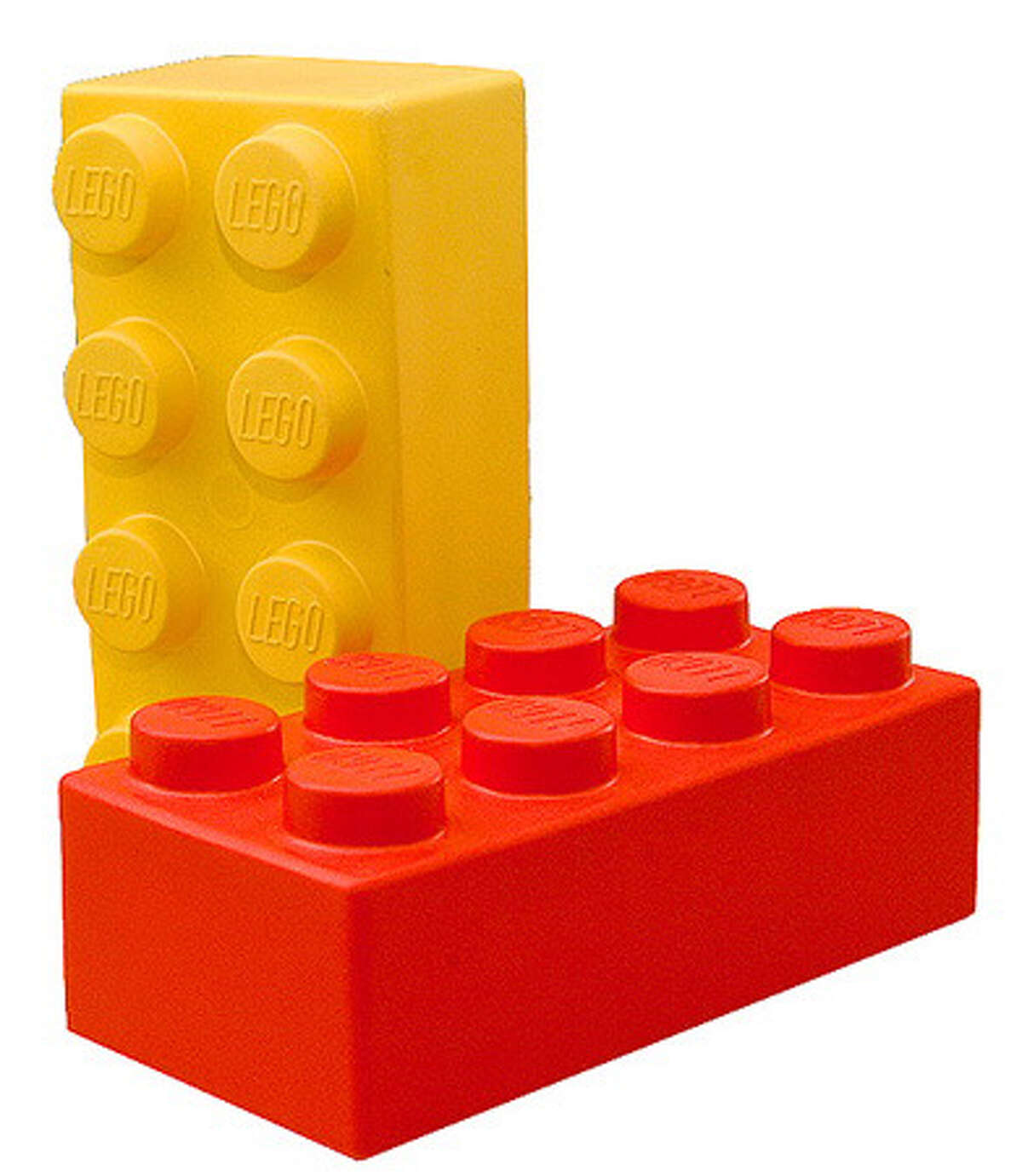 Legos are more fun to build with than to step on.