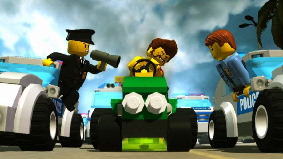 Lego has gone digital with a popular series of block-inspired video games – you know, in case the regular plastic block kits weren't costing enough. Photo: AP