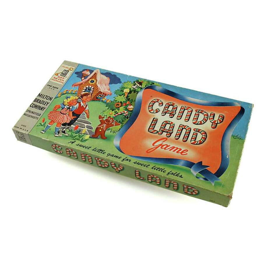 "A game called ""Candy Land"" that comes with several, small, non-edible, potential choking hazards. Smart."