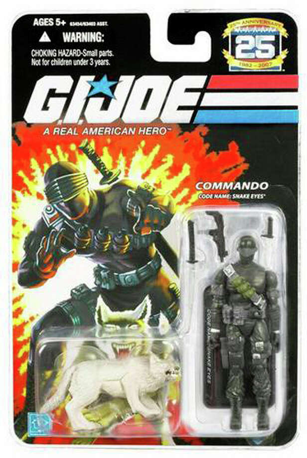 Keeping the franchise alive so that years later audiences could be treated to two terrible movies. Photo: Hasbro, G.I. Joe (2004)