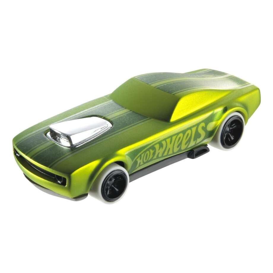 Supposedly you can race this Hot Wheel across your iPad screen, but we're not sure who wants to play with a toy car when they have an iPad. Photo: Mattel