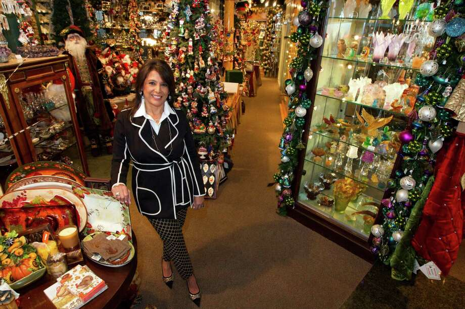 Regina Garcia's store, Events, features luxury gifts, including Christmas ornaments and other holiday items. Photo: J. Patric Schneider, Freelance / © 2013 Houston Chronicle