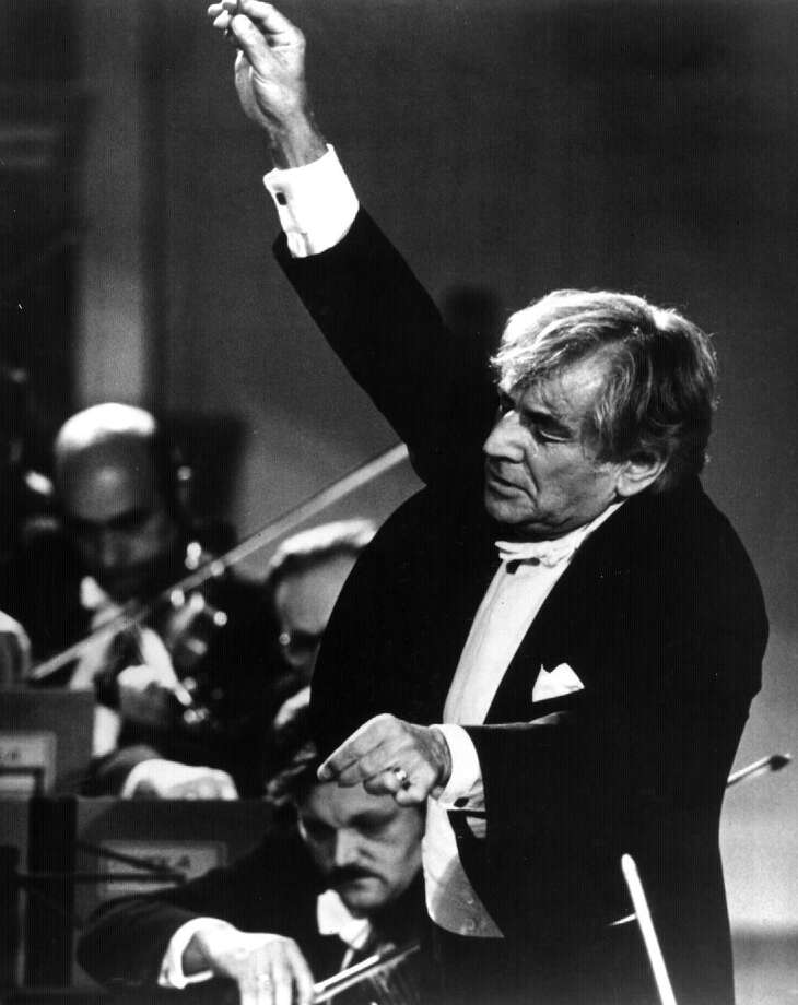 LEONARD BERNSTEIN--orchestra conductor  (no date) --1-- Photo: None
