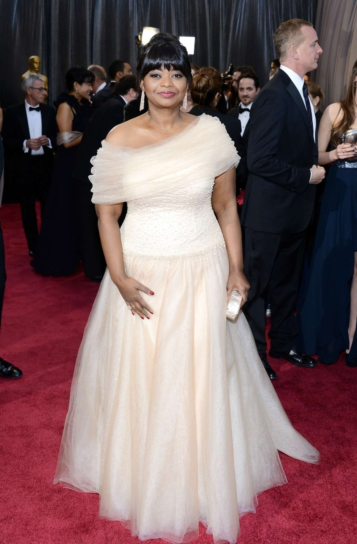Best: Octavia Spencer We want to float away with her on her weightless cloud of awesomeness.