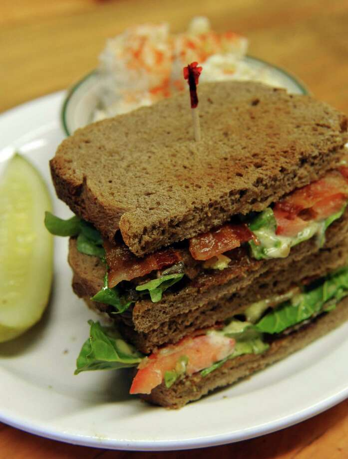 A BLT sandwhich at the Hungry Fish Cafe on Wednesday Nov. 27, 2013 in Troy, N.Y. (Michael P. Farrell/Times Union) Photo: Michael P. Farrell / 00024811A