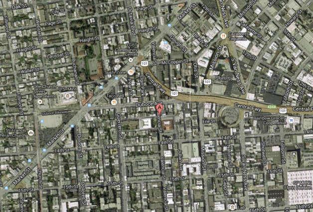 Valencia street and clinton park san francisco ca photo google maps
