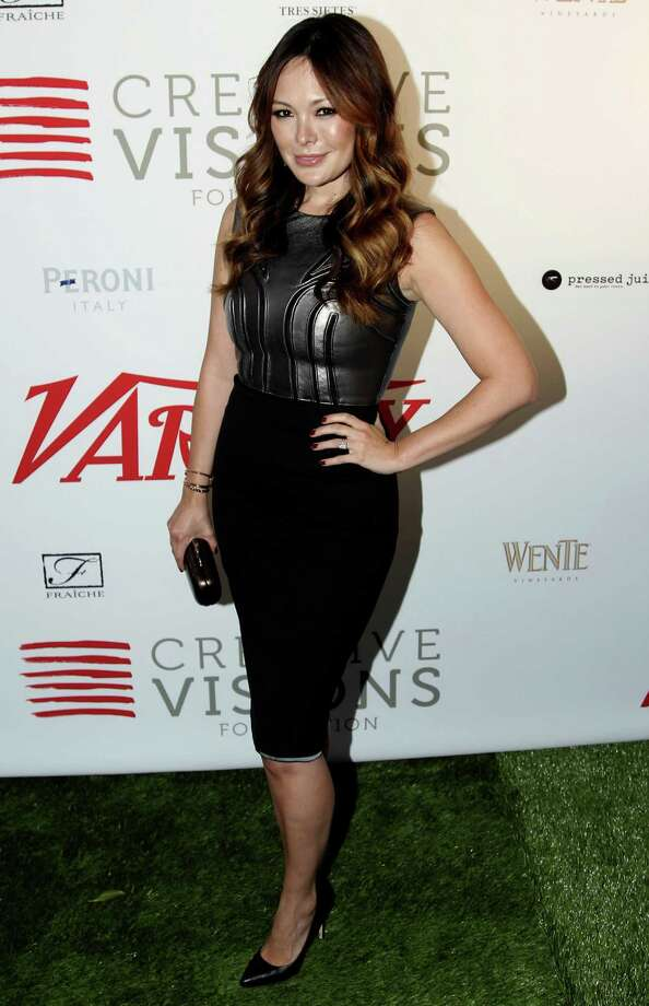 Actress Lindsay Price attends Creative Visions Foundation's Turn on LA event on Thursday, Sept. 20, 2012, in Santa Monica, Calif. (Photo by Matt Sayles/Invision/AP) Photo: Matt Sayles / Invision