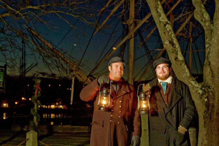 Mystic Seaport's Lantern Light Tours run through Dec. 27. Photo: Contributed Photo / Connecticut Post Contributed
