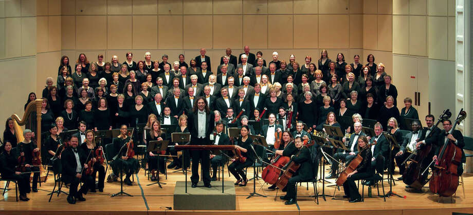 The Fairfield County Chorale & Orchestra performs a festive holiday concert, Saturday, Dec. 14, in Norwalk. Photo: Contributed Photo / Connecticut Post Contributed