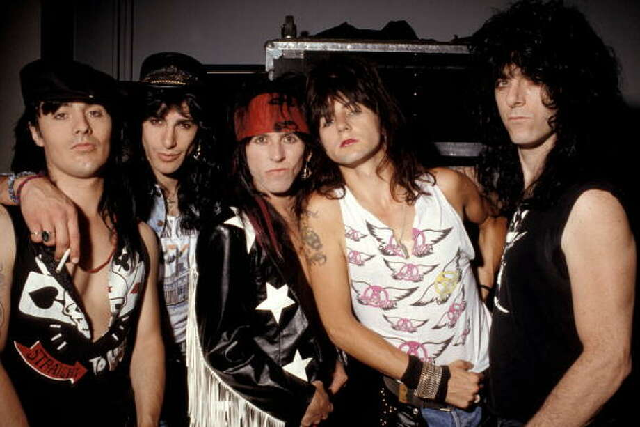 L.A. Guns-  Known for lead singer Axel Rose.  Their demise was Guns and Roses forming as a band. Photo: Ebet Roberts, Getty / Redferns
