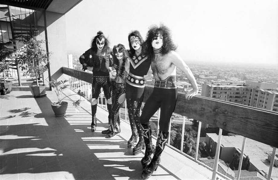 KISS- Known for face paint, dude tongue, fun lyrics and owning a private army.  Though their army's new recruit numbers have shrunk greatly, they still have an extremely large fan base. Photo: Michael Ochs Archives, Getty / Michael Ochs Archives