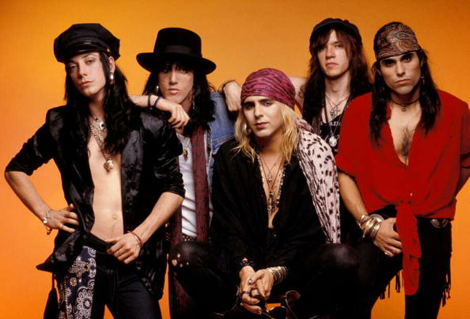 Faster Pussy Cat- Know for being the band that decided to release their debut album the same time as Guns and Roses released their hit album, Appetite for Destruction.  The decision didn't work out in their favor and they shortly went away after that. Photo: Krasner/Trebitz, Getty / Redferns
