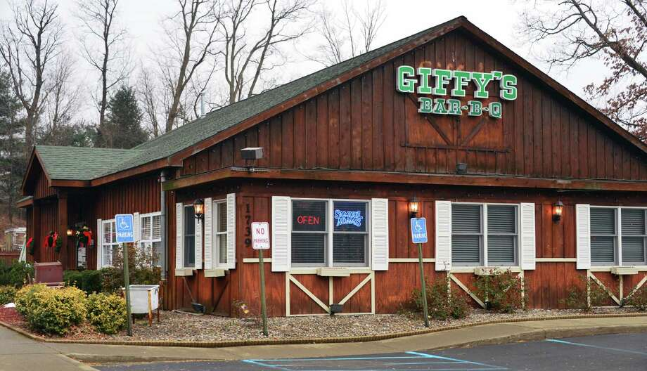 Exterior of Giffy's All-American Grill, formerly Giffy's Bar-b-q Thursday Dec. 5, 2013, in Clifton Park, NY. Giffy's is celebrating its 12th anniversary. (John Carl D'Annibale / Times Union) Photo: John Carl D'Annibale / 00024903A