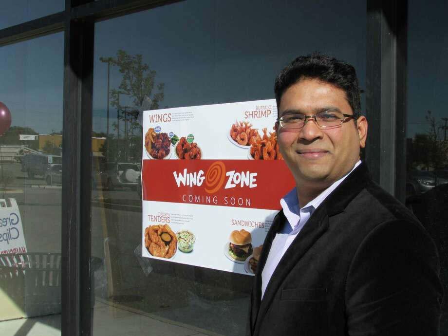 Irfan Mohammed is the franchise owner for a second Wing Zone in San Antonio. On the far Northwest Side on Culebra Road, it's set to open in January.