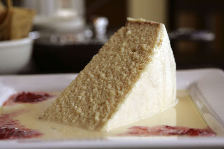 What: Tres Leches CakeWhere: Aldaco's, 20079 Stone Oak Parkway, 210-494-0561, and 100 Hoefgen, 210-222-0561, www.aldacos.netWhy: There are plenty of tres leches cakes in San Antonio, but owner Blanca Aldaco sets the standard with her lush version. The cake is available in traditional vanilla as well as Frangelico made with a moderate amount of liqueur inside and roasted almonds on top.