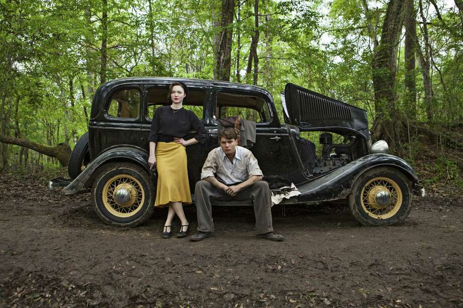 Holliday Grainger and Emile Hirsch star as infamous Texas outlaws Bonnie Parker and Clyde Barrow in a new miniseries that will debut on three cable networks. Photo: A&E