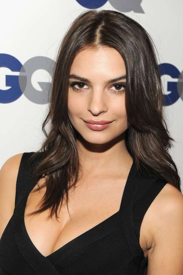 Emily Ratajkowski, a.k.a. That Girl From the Blurred Lines Video. Photo: Kevin Mazur, Getty Images For GQ