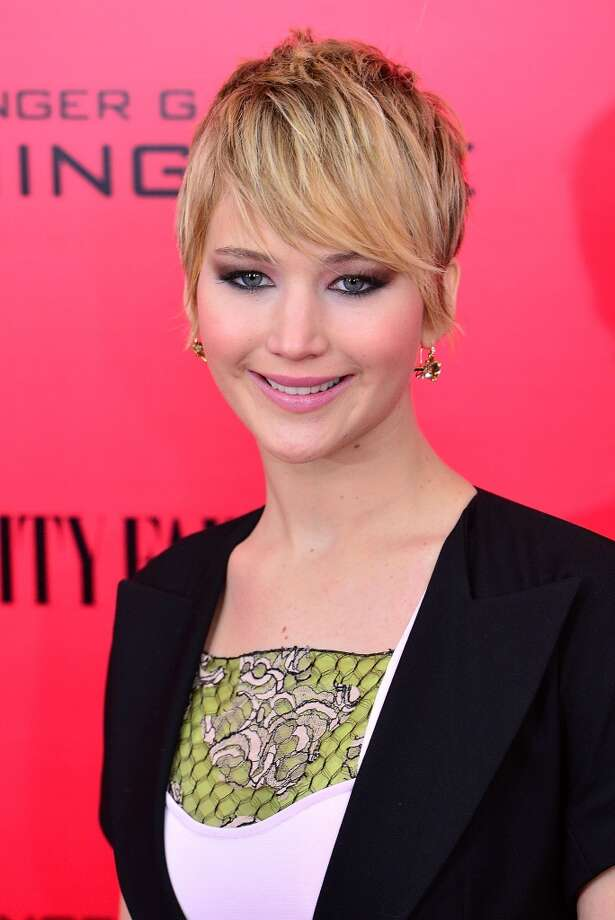 Jennifer Lawrence: Sexiest (Possibly Fake) Pratfall of the Year Photo: James Devaney, WireImage