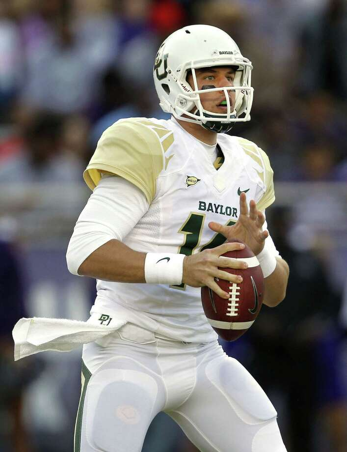 Baylor quarterback Bryce Petty has the Bears at 10-1 heading into Saturday's game against Texas. He has thrown for 3,557 yards, 28 touchdowns and only two interceptions. Photo: Ron Jenkins / Fort Worth Star-Telegram