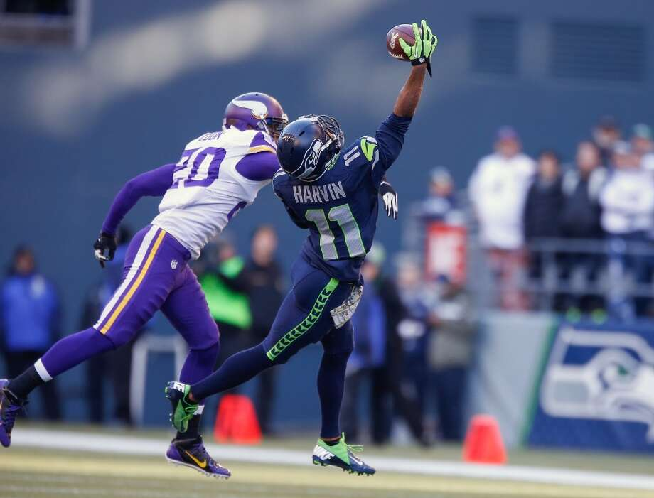 "PETE CARROLLSeahawks head coach  Q: Percy Harvin's hip is still sore and is a question mark for Sunday's game. Are you preparing him the same way you did before his debut against the Vikings?  PC: ""We're almost there. Because of the way it works coming out of the days, he'll run in-line stuff today (Thursday) and we'll see where he's at tomorrow. And that was usually a day earlier (before the Minnesota game).""  Q: Are you just dealing with Harvin's soreness day-by-day?  PC: ""I don't know. I don't know. I don't know that. Maybe it will, maybe it won't -- I don't know. We just got to wait and see how it goes. ... (We'll) see how he is and make sure he's strong and safe and secure and all that, and we're going to try to figure it out with him."" Photo: Otto Greule Jr, Getty Images"