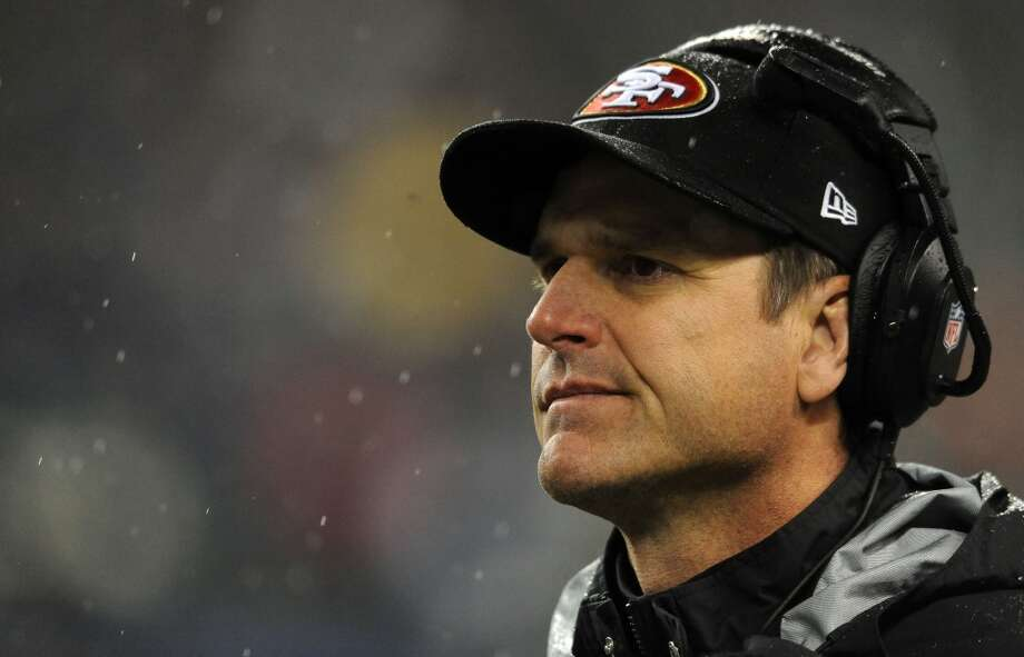 "JIM HARBAUGH49ers head coach  Q: Are you better prepared to face the Seahawks than you were the last time you met?  JH: ""I mean, we understand the task, the challenge in playing a great football team. And we're very enthusiastic about playing the game, and also preparing for it. That's where our focus and mindset is. I don't have the list in front of me of how much more prepared we are, but we're excited and enthusiastic and ready to play the game.""  Q: What differences do you see between the Seahawks of Week 2 and now?  JH: ""Well, I mean, they really have it going. They're playing well in all phases -- offensively, defensively, special teams, they're playing great football. They've been consistently good all season."" Photo: Steve Dykes, Getty Images"