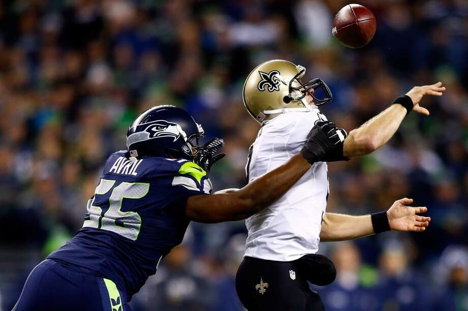 """RICHARD SHERMANSeahawks cornerbackQ: What has made the Seahawks so effective against top teams like the Saints and 49ers?RS: """"I guess I couldn't answer that. We just play our game. We just go out there and play to the best of our abilities and let the chips fall where they may. We go out there and man up stand up, and see what happens. A lot of our guys are playing at a high level. Russell Wilson played one heck of a game last week, our defensive line played a good game, our secondary held up, our linebackers did a great job covering, and I think it was a full ballgame by all three phases of our football team. And that's what allowed us to play at a high level last week.""""But every game is different. Every game is a different battle. The first week in Carolina, we knew how good they could be -- their defense was very effective, their defensive line and their front seven in total bring a lot of pressure and create a lot of different looks. They have a good quarterback, a good offense that runs the ball well, and that's always the ingredients for a good football team. We knew that coming in Week 1, and you know it's going to be tough to contain them with Cam Newton and the way he moves and everything. So we just do what we can."""" Photo: Jonathan Ferrey, Getty Images"""