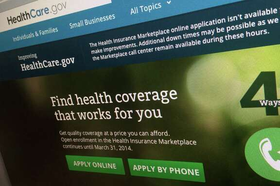 FILE - This Nov. 29, 2013 file photo shows part of the HealthCare.gov website, photographed in Washington. President Barack Obama's fickle health insurance website is finally starting to put up some respectable signup numbers, but its job only seems to have gotten harder. Two months in and out of the repair shop have left significantly less time to fulfill the White House goal of enrolling 7 million people for 2014 by the end of open enrollment March 31.