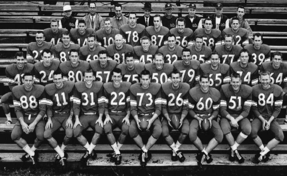 A look at some key events from 1957, the year the Rice Owls last won an outright football conference championship: Photo: Rice Athletics