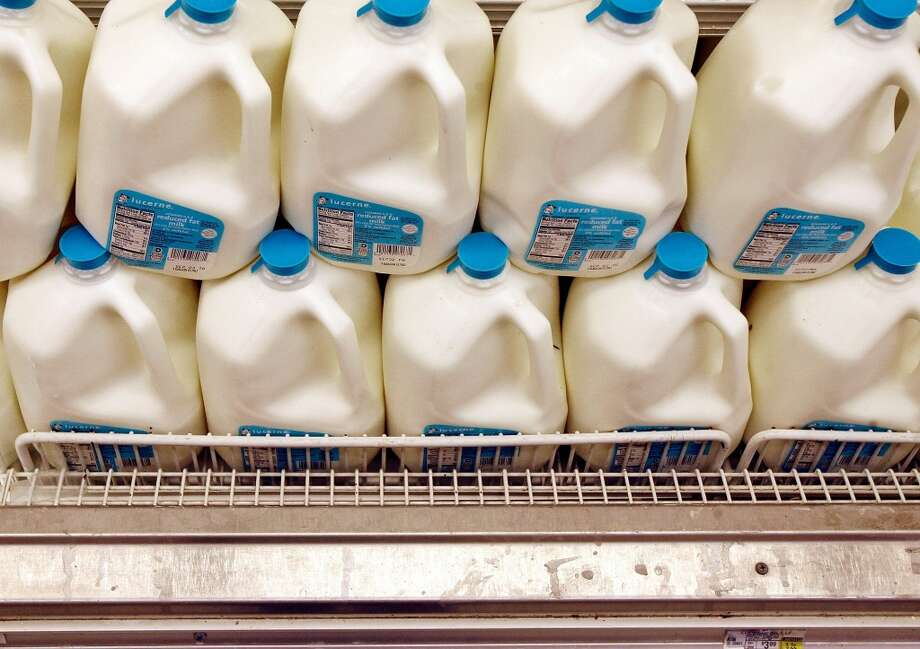 $1 - Cost of a gallon milk Photo: Chip Somodevilla, Getty Images