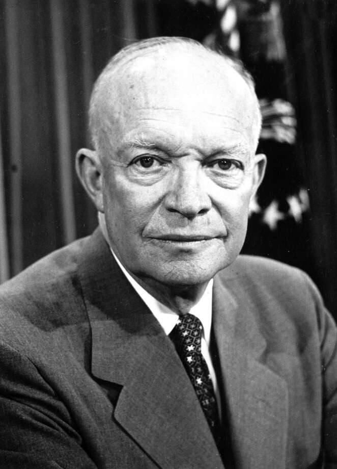 Dwight Eisenhower begins his second term as U.S. president Photo: AP/Official White House Photo