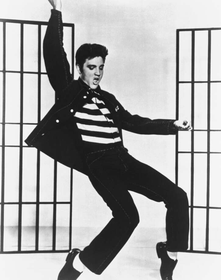 Elvis' 'Jailhouse Rock' was No. 1 on Billboard Top 100 Photo: Associated Press