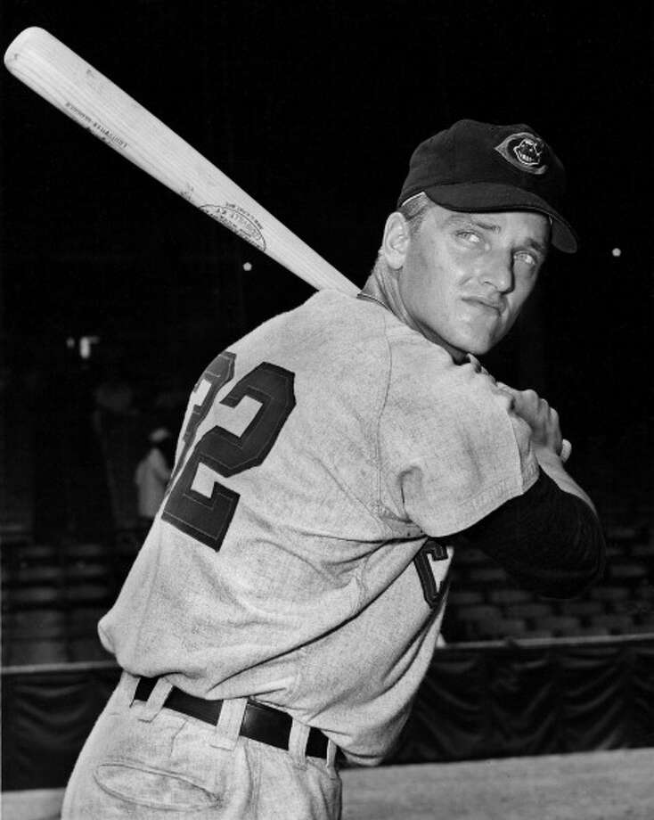 Roger Maris makes Major League Baseball debut with the Cleveland Indians Photo: Sporting News Via Getty Images