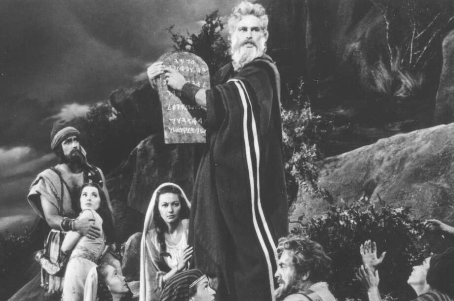 'The Ten Commandments' was one of top movies Photo: Associated Press
