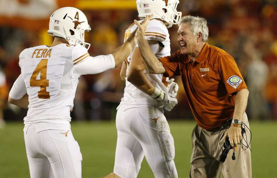 Even a win, even a Big 12 title, may not be enough to secure Mack's sideline spot at Texas.