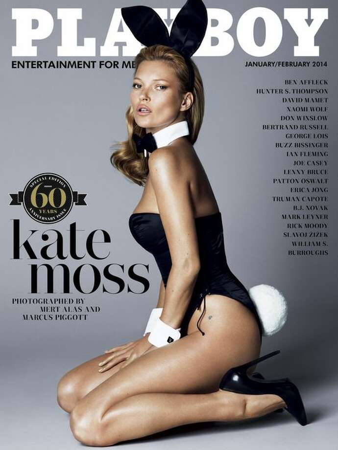 Model Kate Moss graced the cover of Playboy's 60th anniversary issue, which hit newsstands back in 2011.See more Iconic Playboy covers in this slideshow. Photo: Photo: Mert Alas And Marcus Piggott For Playboy