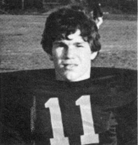 Gary Kubiak when he was quarterback of St. Pius in 1977.