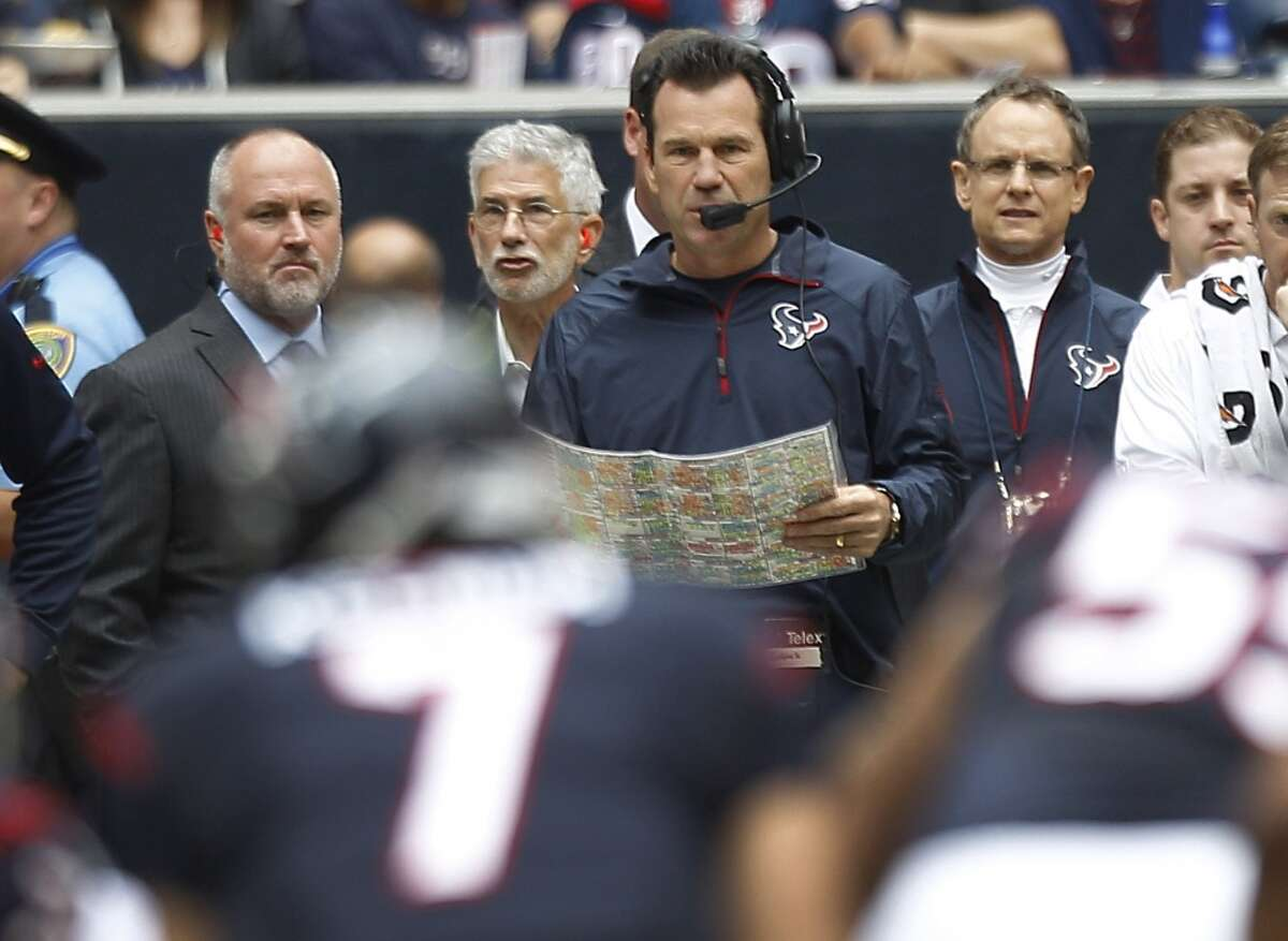 To stop sucking at sports. Firing Texans' head coach Gary Kubiak was a good start. Now what's your gameplan, Astros?