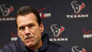 In his eight seasons as Texans head coach, Gary Kubiak compiled a 61-64 record.