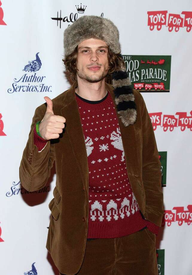 Actor Matthew Gray Gubler was worried his sweater might be too understated. If Davy Crockett lived to see this, well, ... probably a pile of dead hipsters. Photo: Amanda Edwards, Getty Images / 2012 Amanda Edwards