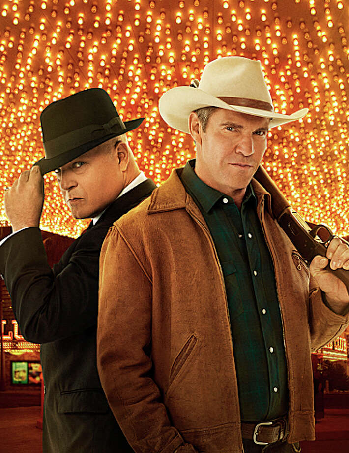 """VEGAS: CBS, 2012-2013  Compared to series on other networks, """"Vegas"""" had strong ratings. But compared to other shows on CBS, the crime drama couldn't keep up, and was canceled after only 21 episodes. Photo: Kevin Lynch, ©2012 CBS Broadcasting, Inc. All Rights Reserved. / ©2012 CBS Broadcasting, Inc. All Rights Reserved."""