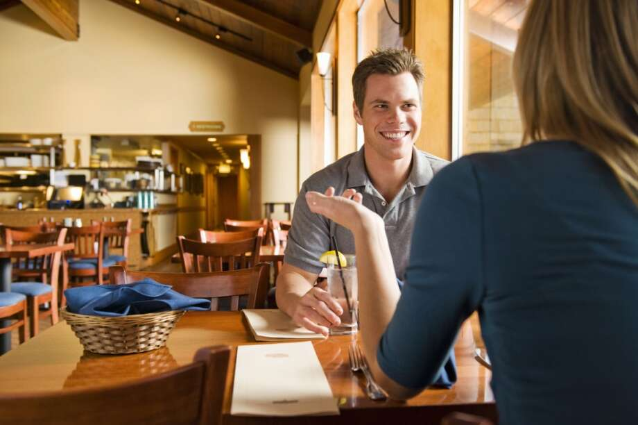 "15. Men on a first date are great tippers   When a server waits on an ""overly nice male customer,"" there's a good chance he's on a first date, says Urbanspoon. And the tip will be generous, because he wants to show off. Photo: Jacobs Stock Photography, Getty Images"