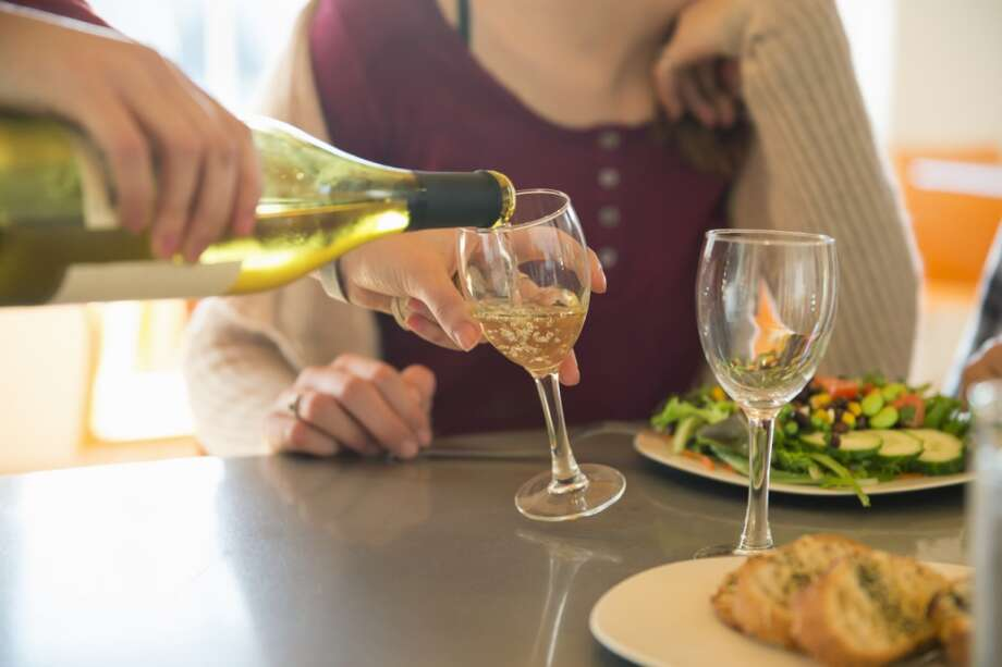 1. The second-cheapest bottle of wine has the highest mark-upMost people won't order the cheapest bottle of wine on the menu because they don't want to look like a tightwad. So they'll go for the second-cheapest bottle, which prompts restaurants to mark it up the most, says Urbanspoon. Photo: Mint Images - Bill Miles, Getty Images