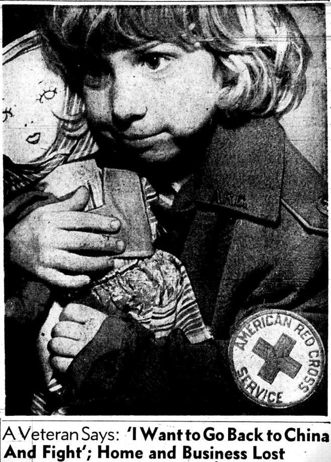 Pearl Harbor evacuees were met with doughnuts, coffee, toys for the children Ð the Chronicle ran this wrenching picture of a bewildered-looking little girl clutching a rag doll on Friday, December 26, 1941,  Ð and provided housing and support for families. PTA members volunteered to help the evacuees, and the Army Nursing Service put out an urgent appeal for trained nurses to report immediately for service at 1136 Eddy Street.