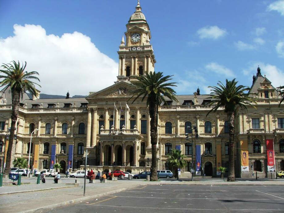 Nelson Mandela gave his first public  speech from the balcony of City Hall in Cape Town in 1990.  It's now a stop on Mandela-themed tours. Photo:  Www.cpo.org.za