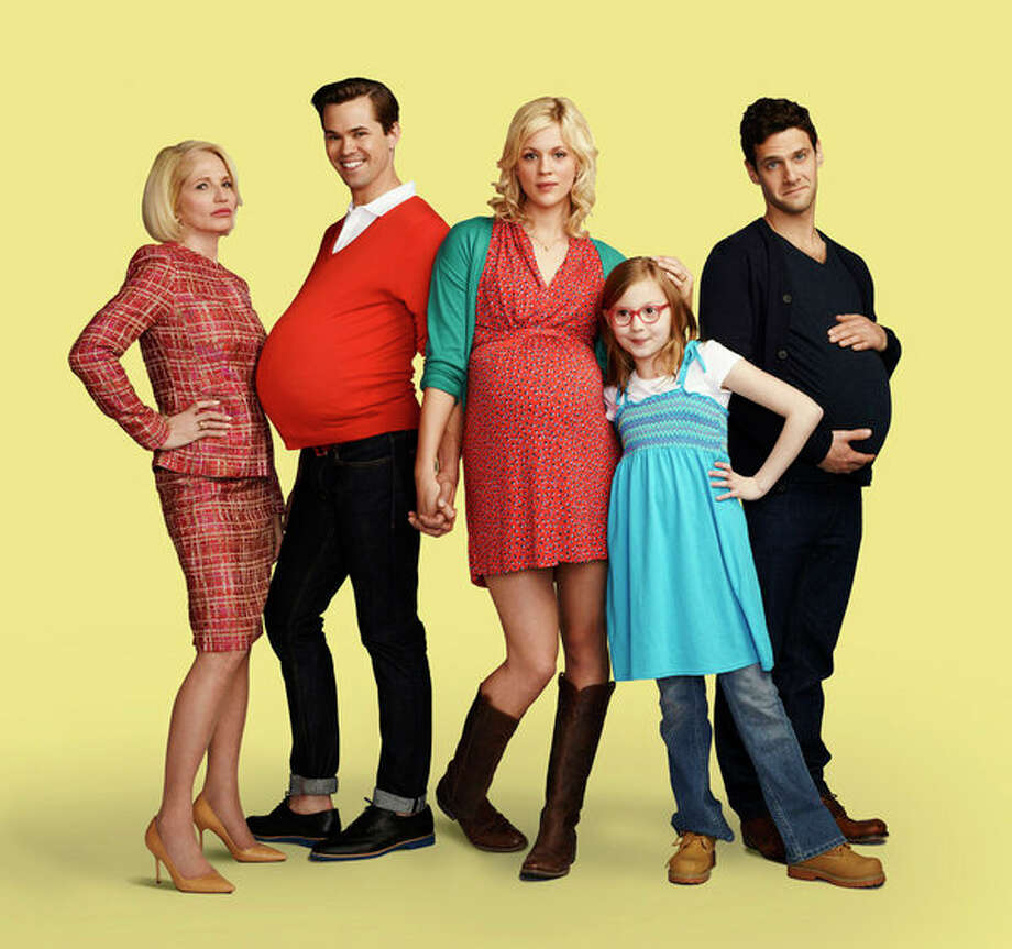 THE NEW NORMAL: NBC, 2012-2013  Ryan Murphy's sitcom about a gay couple that hires a surrogate to carry their baby was charming but uneven, and ended after only one season. Photo: NBC, Robert Trachtenberg/NBC / 2012 NBCUniversal Media, LLC