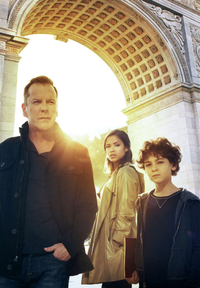 TOUCH: FOX, 2012 - 2013  Kiefer Sutherland played the father of a boy who would not speak, but could find patterns in things in this uneven drama. It lasted for two seasons. / 1