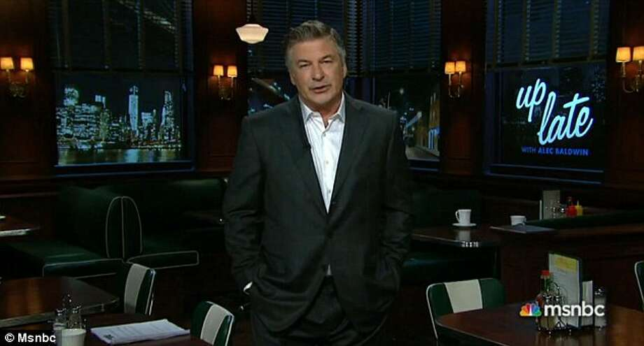 UP LATE WITH ALEC BALDWIN: MSNBC, 2013  Alec Baldwin's talk show was canceled after 5 measly episodes following outrage when the actor used an anti-gay slur against a photographer. Photo: © Msnbc