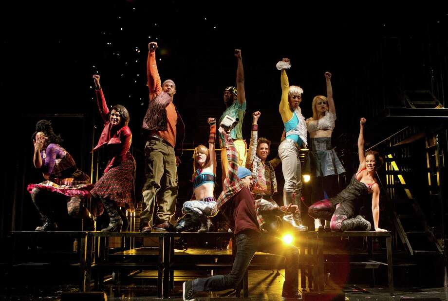 "In this theater publicity image released by Richard Kornberg & Associates, the cast of the Broadway production of ""Rent,"" is shown in New York. Photo: Joan Marcus, AP Photo/Joan Marcus/Richard Kor / ©2011 Joan Marcus Associated Press"